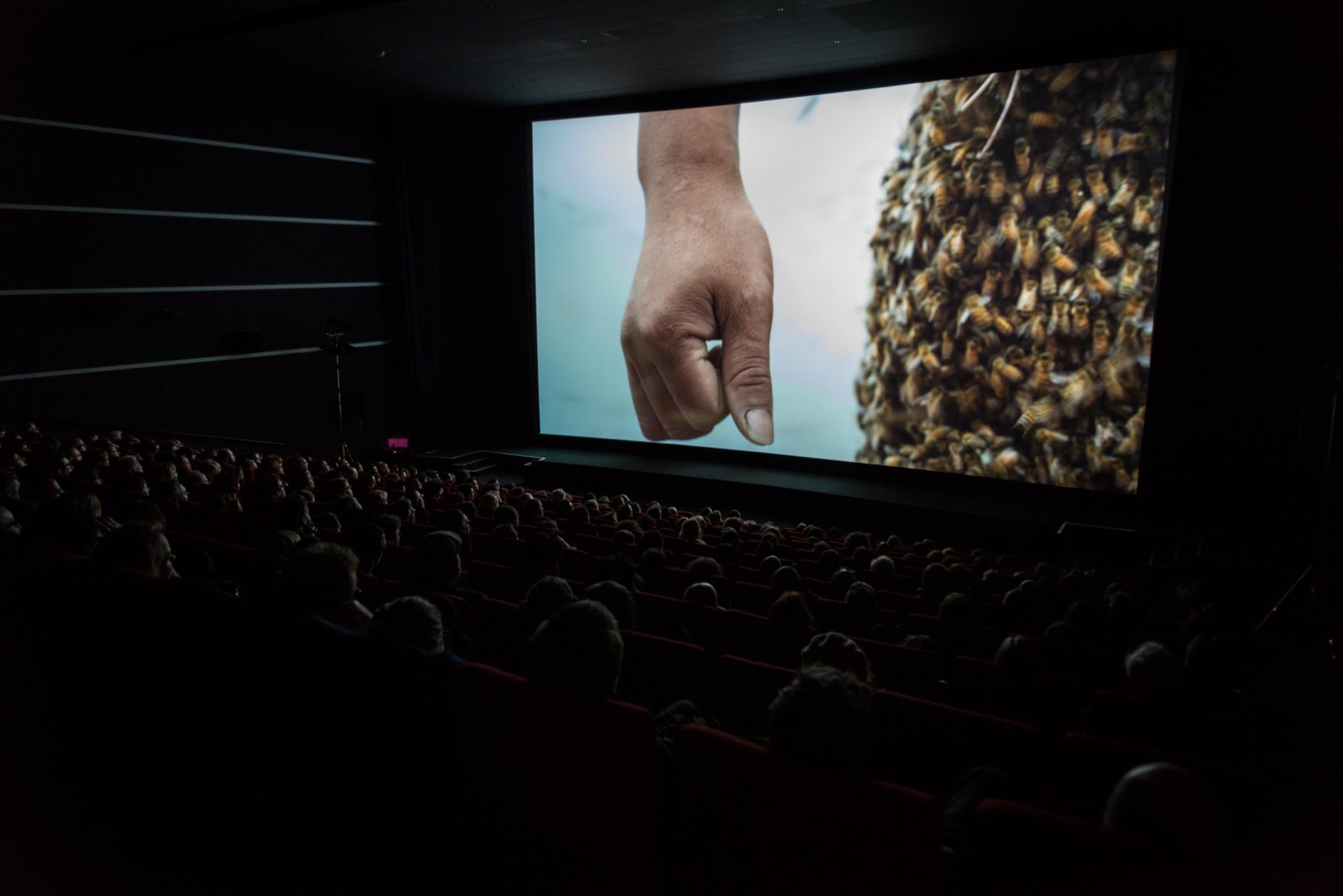 Marc JOHNSON, YuYu, International Premiere at CinemaxX 3, Berlinale Shorts 2015, © Heinrich Volkel